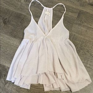 Urban Outfitters baby doll waffle tank top